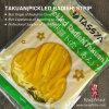 Tassya japanische Art legte Streifen des Rettich-(Takuan) in Essig ein