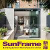 Раздвижная дверь Frameless алюминиевая с большим взглядом