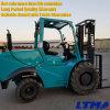 Raues Gelände-Dieselgabelstapler der neuen des Entwurfs-Gabelstapler-3 Tonnen-Ton-4