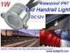 Het Licht van het mini1W LEIDENE Traliewerk van de Leuning voor Brug, de Waterdichte LEIDENE van Stoepen enz. DC12V IP67 Lamp van de Verlichting