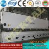 Подгонянная плиты гильотины механического инструмента CNC машина 13*12000mm гидровлической режа