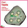 Дистанционный интерьер для автоматического Тойота с 3 кнопками Ask315MHz Fccid-Gq4-29t