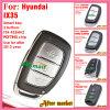 De Verre Sleutel van de tik voor Hyundai IX30 met 3 Knopen Fsk 433MHz