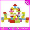 Les 36 parties bon marché en gros de bébé de jouets éducatifs de synthons de main de coordination en bois d'oeil joue W13b020