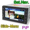 6.2  2 iPod di Sat Nav DVB-T di lettore DVD dell'automobile di BACCANO HD (ES862D)