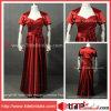 Cetim vermelho Mother de Jacket Pleat Soft de The Bride Dress (AS4230)