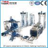 Machine de fabrication de blocs de béton entièrement automatique / machine à briques (QFT9-15) Machine à bloc
