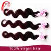 1b/99j Body Wave Hair Extension 100%のブラジル人Virgin Human Hair