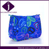 China Wholesale Ladies Blue Travel Makeup Bags Cosmetic Bag con Hearts CB002