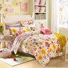 Textiel Katoenen van 100% Beddegoed Van uitstekende kwaliteit dat voor Huis/de Reeks van het Beddegoed van de Dekking van het Dekbed van het Dekbed van het Hotel (briljante bloem) wordt geplaatst