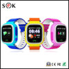 O melhor design 1.22 polegadas touch screen Kids GSM GPS Ttracker Q90 Kids Smart Watch