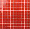 De rode Tegel van de Keuken van de Tegel van het Mozaïek van het Glas