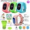 0.96 '' montre de traqueur des enfants GPS d'OLED avec le H3 de GPS+Lbs+WiFi