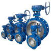 Gear Operated D343h-150lbのANSI/ASTM Wcb Flanged Butterfly Valve