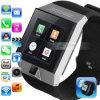 Teléfono elegante dual del reloj de Bluetooth de la tarjeta dual del sistema GPS WiFi de la operación del androide 4.0 de la CPU de la base