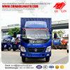 Cabina simple pequeña entrega de Carga Seca Van Camion Truck