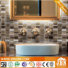 Nuevo diseño mosaico de vidrio y aluminio para pared de baño (M855125)
