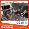 Riga automatica UV macchina di metallizzazione cosmetica della verniciatura a spruzzo di vuoto
