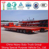 Usine de Chinois semi-remorque Remorque de camion de conteneurs lit plat