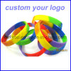 Your su ordinazione Logo Silicone Wristbands per Promotion Gifts Bracelet