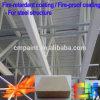 Покрытие Intumescent High-Build Fire-Retardant покрытие для стальных структуры