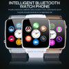 Neueste Pedometer-Armbanduhr Bluetooth intelligente Uhr mit SIM Karte-Schlitz X6
