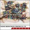 Флора Digital Print Silk Scarf для Evening Dress