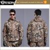 Esdyの防水および通気性の人の戦術的なSoftshellの戦術的なジャケット