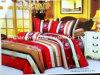 Blad van het poly/het Beddegoed van het Katoenen die Bed voor het Gebruik/het Huis van het Hotel wordt geplaatst