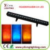 De LEIDENE Rgabw van de Hoge Macht 18PCS van de Fabriek van Yilonglighting 5in1 Wasmachine van de Muur