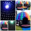 Disco-Abdeckung-aufblasbares Schlag-Haus mit Cer-Gebläse