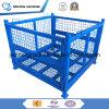 Almacén de jaula de alambre de acero apilable