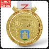 Medalla de oro del metal de la alta calidad de encargo