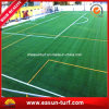Hierba sintetizada para los campos de fútbol
