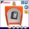 Téléphone lourd de protection de décomposition d'acier inoxydable pour le tunnel /Mine Knex1