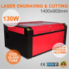 do CO2 130W do laser máquina 1490 de gravura