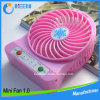 Вентилятор миниой батареи источника питания батареи лития вентилятора перезаряжаемые миниый