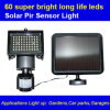 60 LED Solar Sensor Light con Waterproof, Entrances, Porches, giardini, Carports