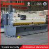 Tagliatrice della lamina di metallo della ghigliottina di QC11y 8X5000