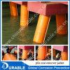 Las cintas de vaselina sobre sistema de pila de la estructura de acero marino