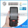 terminal industrial del mensajero 4G PDA 1d de 4inch IP65 del explorador Handheld androide logístico PDA de los códigos de barras