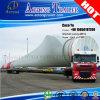 長さのトレーラー拡張可能な40メートルのに風の刃の半運ぶ道