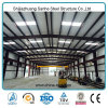 Magazzino industriale prefabbricato Corridoio della struttura d'acciaio di disegno della costruzione