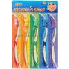 Brosse à dent d'emballage multi-PCS (5PCS dans un emballage en papier blister)
