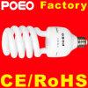 Metade Helic espiral CFL lâmpada fluorescente compacta CFL lâmpada economizadora de energia