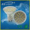 Aluminium GU10 DEL Spot Light 4W SMD5050 27D White 360lumens