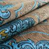 Jacquard tissu de polyester de chenille pour le coin canapé
