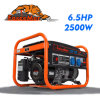 2500 generador portable de la gasolina del HP del vatio 6.5 (AG2500c)