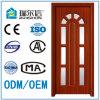 Puerta de madera interior del MDF del PVC del diseño moderno