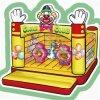 Alegrar a diversão de Diversões Bouncer Bouncer insufláveis CH-Ib100238J